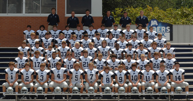 8th and 9th Grade Football Team