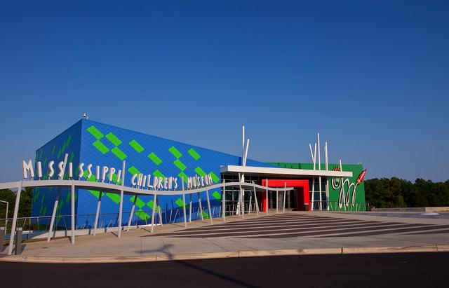 Mississippi Children's Museum Exterior