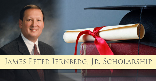 Peter Jernberg, Jr. Scholarship