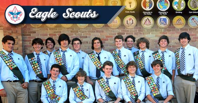JA Eagle Scouts