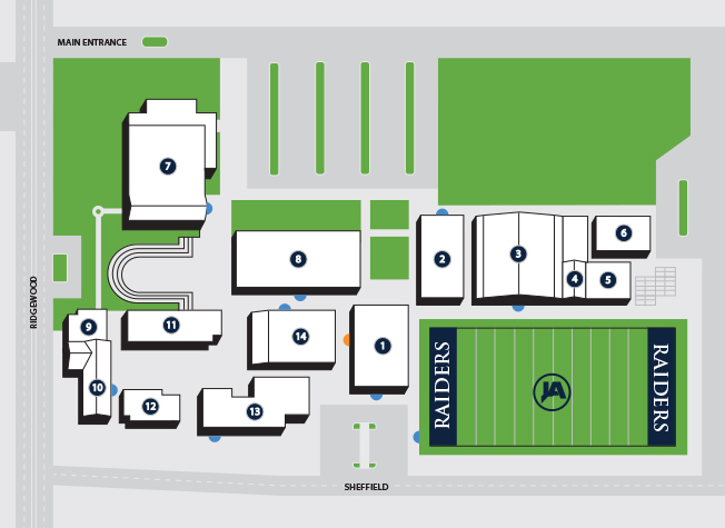 Lakeland Campus Map.Visitor Information Jackson Academy